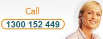 Call 1300 152 449